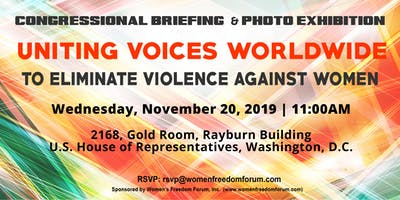 Uniting Voices Worldwide to Eliminate Violence Against Women 2019
