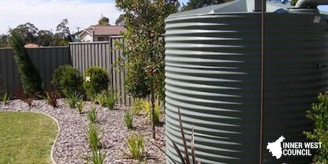 August Rainwater Harvesting Workshop tickets