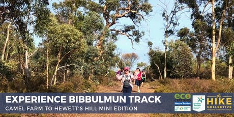 Bibbulmun Track MINI Edition 2 - Camel Farm to Hewett's Hill, Kalamunda Return Hike tickets