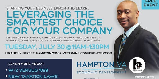 Staffing Your Business Lunch and Learn