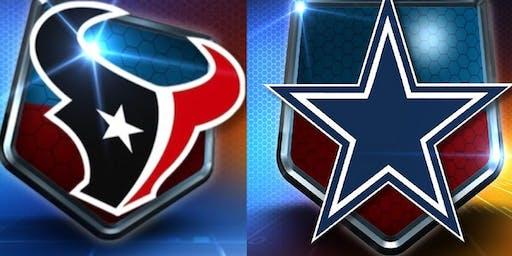 Texans vs Cowboys in Arlington