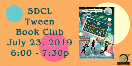 SDCL Tween Book Club