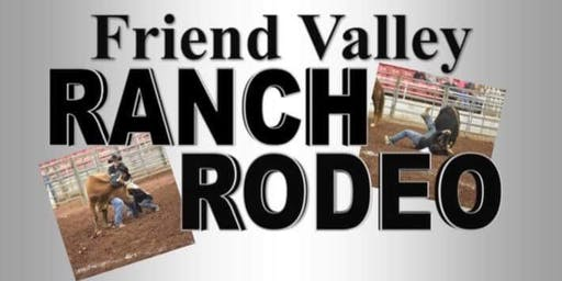 Ranch Rodeo.  July 27, 2019.  At Friend Valley Ranch