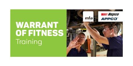 MTA WoF New Inspector Course — Lower Hutt tickets
