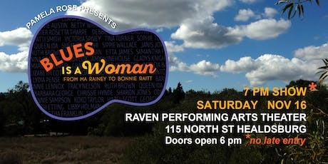 BLUES IS A WOMAN tickets