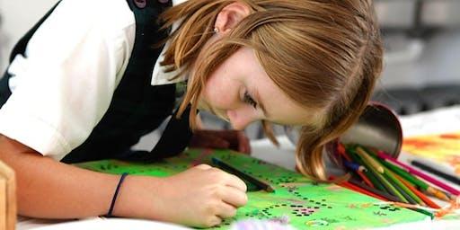 Kids Artclub with Strength Heroes