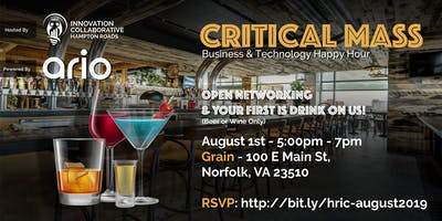 Critical Mass Happy Hour (Southside) - August 1, 2019