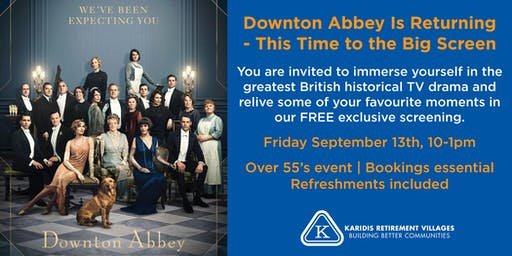 Downton Abbey - Free Movie Morning