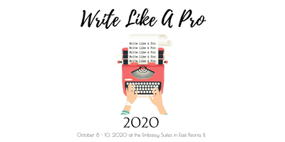 Write Like A Pro Author Conference 2020!