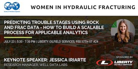 SPE WIN- Women in Hydraulic Fracturing Reception tickets