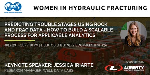 SPE WIN- Women in Hydraulic Fracturing Reception