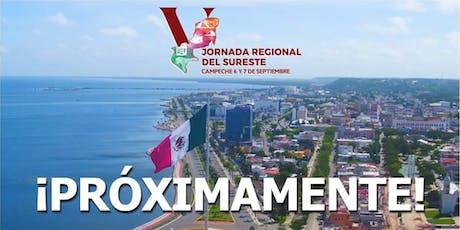 JORNADA REGIONAL DEL SURESTE boletos