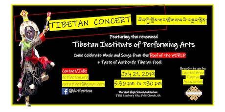 Tibetan Institute of Performing Arts (TIPA) Concert tickets