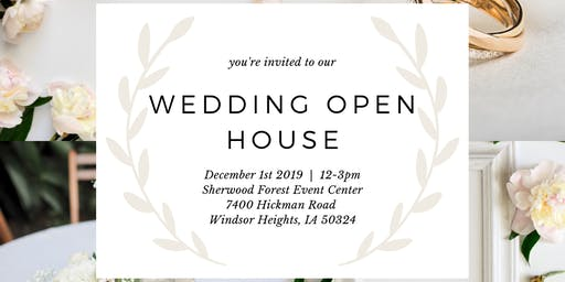 Sherwood Forest Wedding Open House