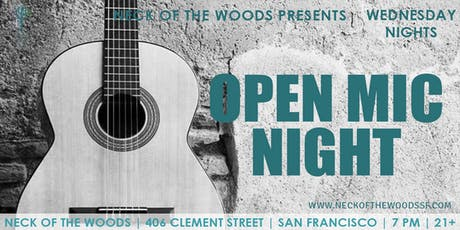 Open Mic Night tickets