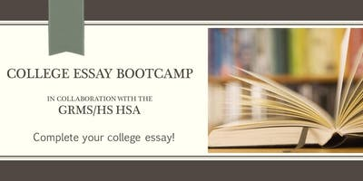 Rising Seniors: College Essay Boot Camp