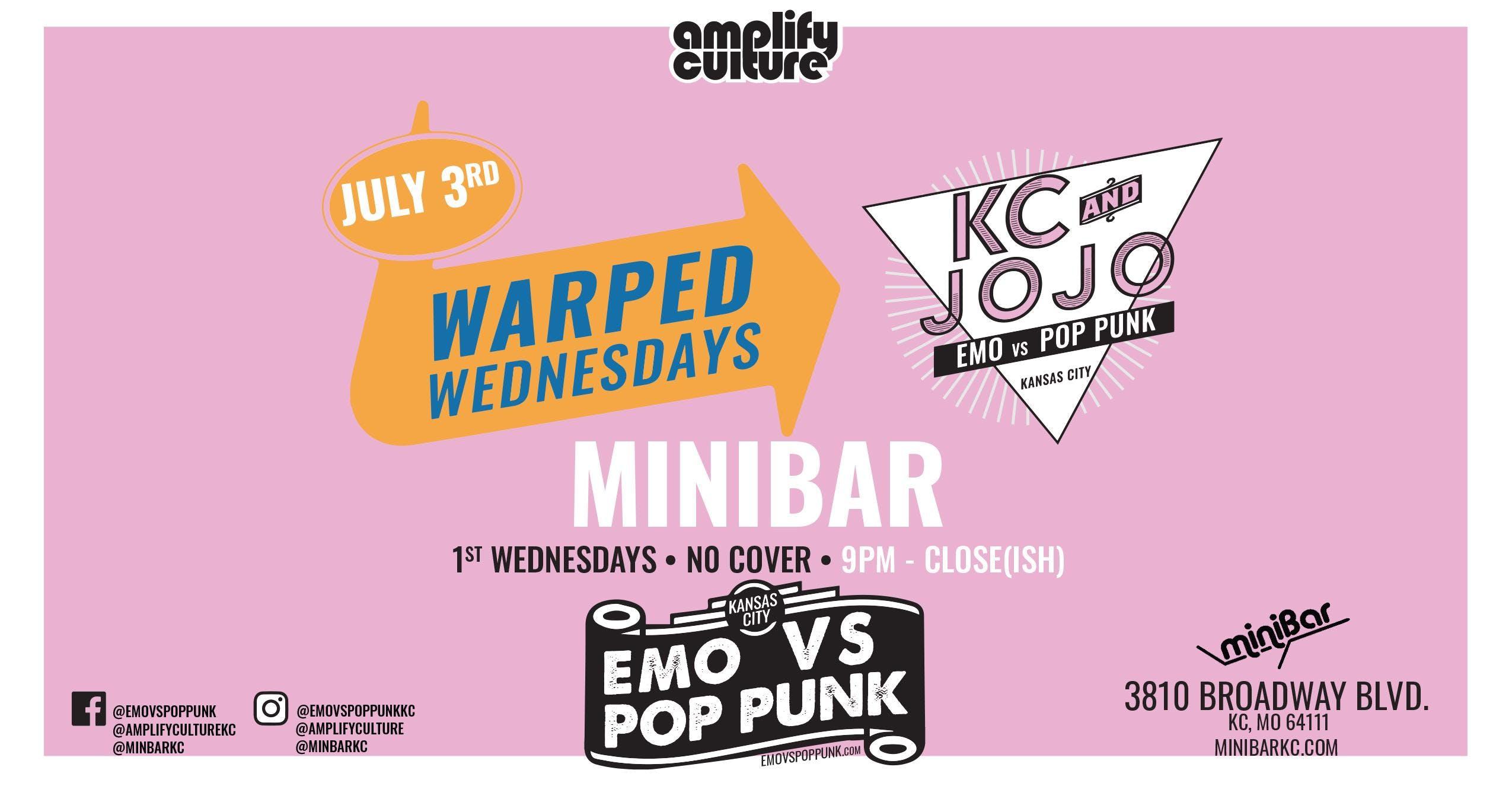 Emo vs Pop Punk : KC - Warped Wednesday