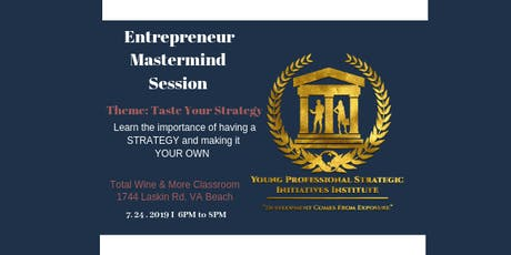 Entrepreneur Mastermind Session tickets