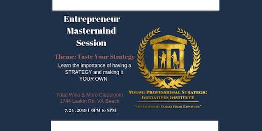 Entrepreneur Mastermind Session