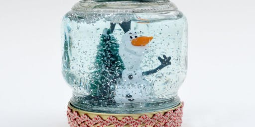 Olaf snow globes- Winter holidays @ City Library