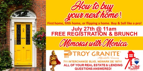 How to buy your next home! First home, fifth home or flip home! tickets