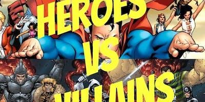 Super Heroes VS. Villains 5k/10k 1 Mile