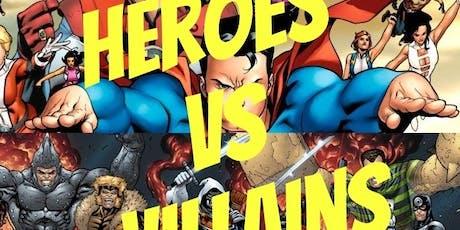 Super Heroes VS. Villains 5k/10k 1 Mile tickets