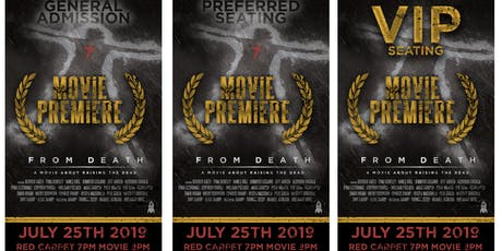 From Death Hollywood Movie Premiere tickets
