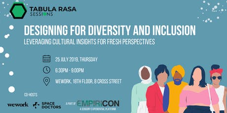Designing for Diversity and Inclusion: Leveraging Cultural Insights for Fresh Perspectives tickets