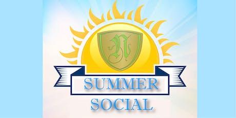 2019 Summer Social tickets
