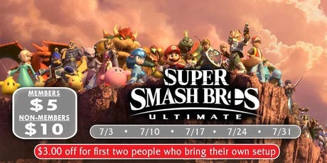 Wednesday Night Ultimate Smash Bros Tournament Series  tickets