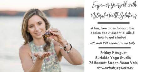 FREE CLASS: Empower Yourself with Natural Solutions tickets