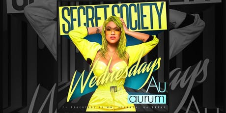 Secret Society Wednesday's tickets