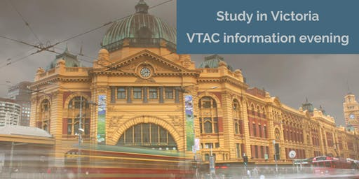 Study in Victoria: VTAC information evening - Canberra 2019