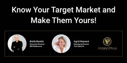 Know Your Target Market and Make Them Yours!