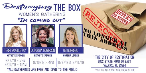 Destroying The Box Womens Gathering