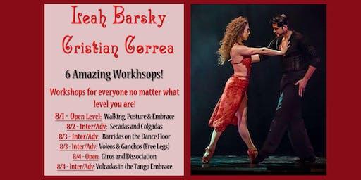 Tango Workshops with Leah Barsky & Cristian Correa
