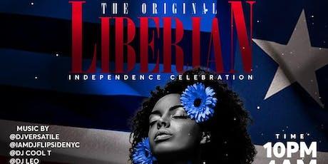 The Original Liberian Independence Celebration tickets