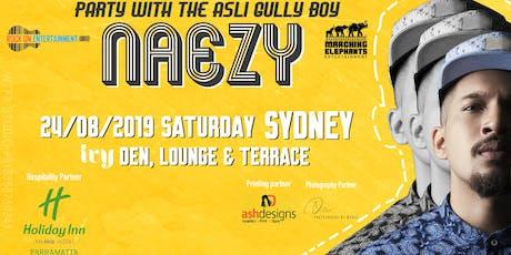 Gully Boy Naezy Live in Sydney  tickets