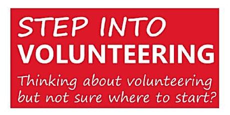 Step into Volunteering tickets
