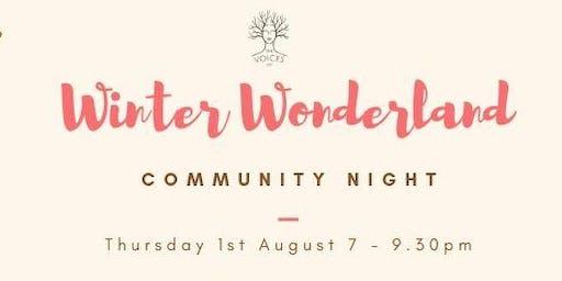 Winter Wonderland Community Night