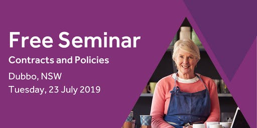 Free Seminar: Contracts and policies – Dubbo 23rd July