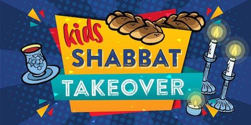 Kids Shabbat Takeover