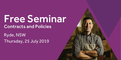 Free Seminar: Contracts and policies – Ryde 25th July