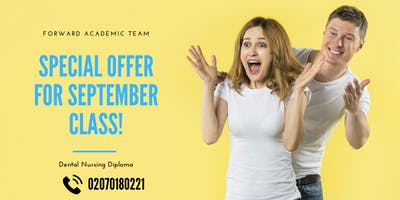 Dental Nurse Course in London - New Intake for September   Placement Available