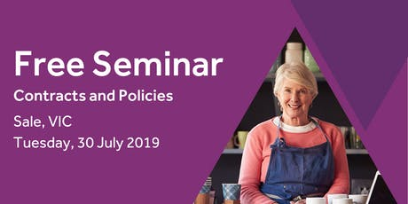 Free Seminar: Contracts and policies – Sale 30th July tickets