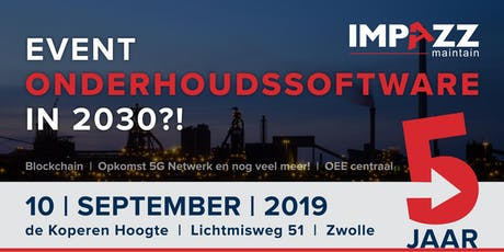 Event Onderhoudssoftware in 2030?! tickets