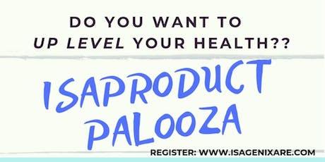 IsaProduct Palooza tickets