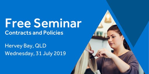 Free Seminar: Contracts and policies – Hervey Bay 31st July