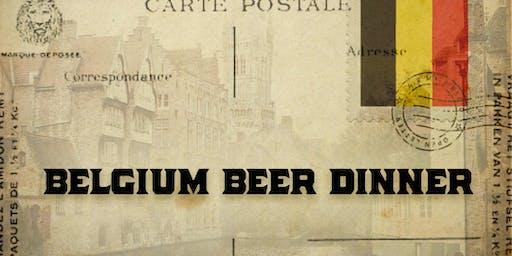 Belgium Beer Dinner